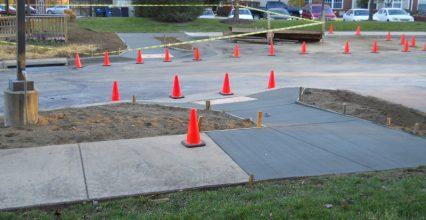 Professional and DIY Sidewalk Trip Hazard Repair Process